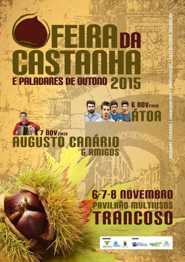 feira castanha cartaz