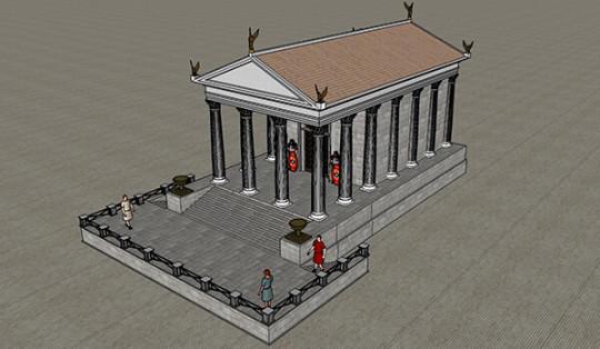 templo romano idanha