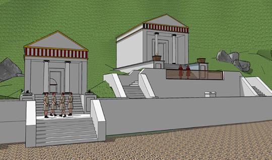 templo romano orjais